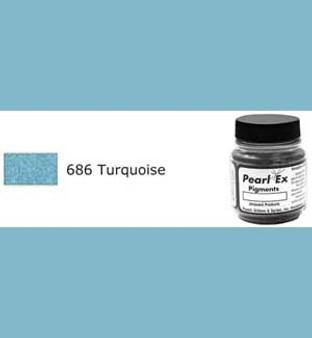Jacquard Pearl-Ex 0.75oz Turquoise 686