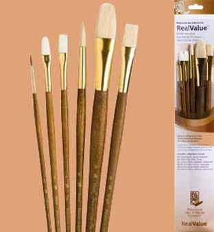 Princeton RealValue Brush Pack Sable 6pk