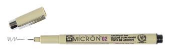 Sakura Pigma Micron Pen 02 Black
