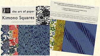 Potluck Paper Pack Kimono Squares 8.5x8.5