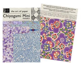Potluck Paper Pack Chiyogami Mini Mosaics 6x9