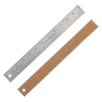 Flexible Stainless Steel Ruler 12-Inch