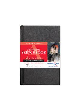 Stillman & Birn Alpha Hardbound Sketch Book 150gsm 5.5x8.5