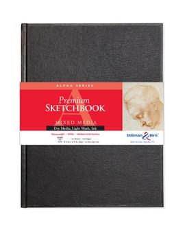 """Stillman & Birn Alpha Hardbound Sketch Book 150gsm A4 8.25x11.75"""""""