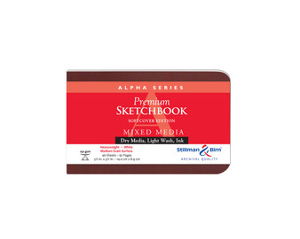 Stillman & Birn Softcover Sketchbook Alpha Series 150g 5.5x3.5 Landscape