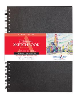 Stillman & Birn Alpha Wirebound Sketch Book 150gsm 9x12