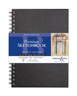 Stillman & Birn Beta Series Wirebound Sketch 270g 7x10