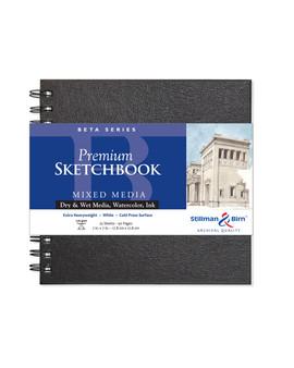 Stillman & Birn Beta Wirebound Sketch Book 270gsm 7x7