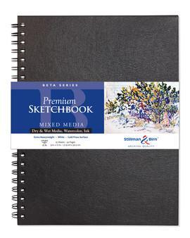 Stillman & Birn Beta Wirebound Sketch Book 270gsm 9x12