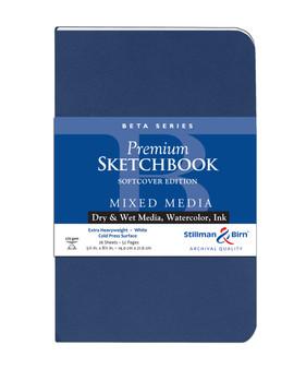 Stillman & Birn Softcover Sketchbook Beta Series 270g 5.5x8.5