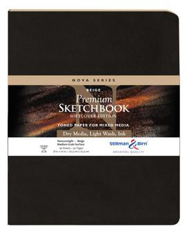 Stillman & Birn Nova Series Softcover 8x10 Beige