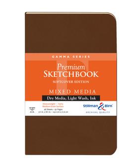 Stillman & Birn Softcover Sketchbook Gamma Series 150g 5.5x8.5