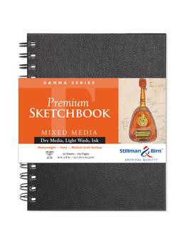 Stillman & Birn Gamma Series Wirebound Sketch 150g 6x8