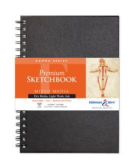 Stillman & Birn Gamma Wirebound Sketch Book 150gsm 7x10