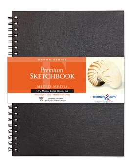 Stillman & Birn Gamma Wirebound Sketch Book 150gsm 9x12
