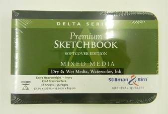 Stillman & Birn Softcover Sketchbook Delta Series 270g 5.5x3.5 Landscape