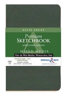 Stillman & Birn Softcover Sketchbook Delta Series 270g 5.5x8.5