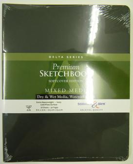 Stillman & Birn Softcover Sketchbook Delta Series 270g 8x10