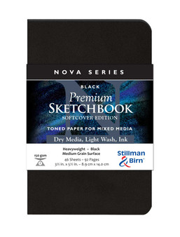 Stillman & Birn Nova Series Softcover 3.5x5.5 Black