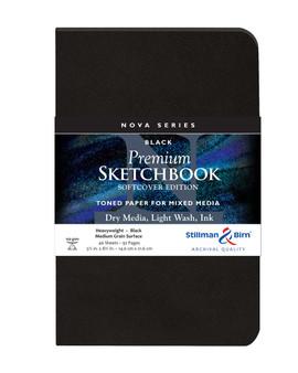 Stillman & Birn Nova Series Softcover 5.5x8.5 Black