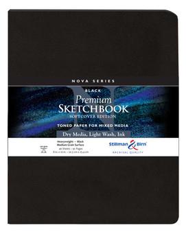 Stillman & Birn Nova Series Softcover 8x10 Black
