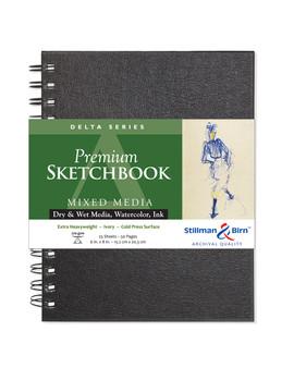 Stillman & Birn Delta Wirebound Sketch Book 270gsm 6x8
