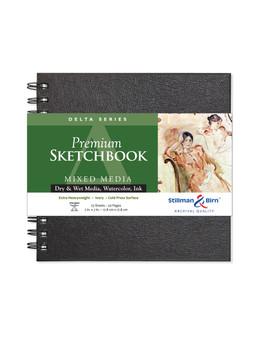 Stillman & Birn Delta Wirebound Sketch Book 270gsm 7x7