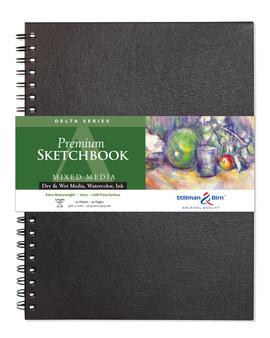 Stillman & Birn Delta Wirebound Sketch Book 270gsm 9x12