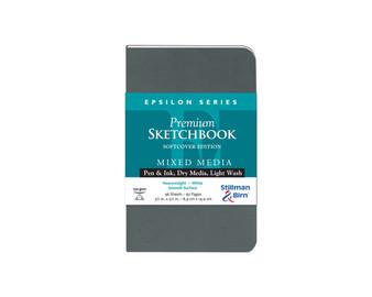 Stillman & Birn Softcover Sketchbook Epsilon Series 150g 3.5x5.5
