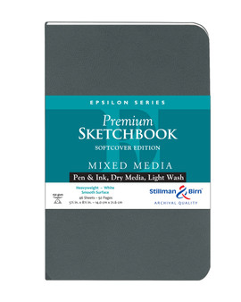 Stillman & Birn Softcover Sketchbook Epsilon Series 150g 5.5x8.5