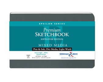 Stillman & Birn Softcover Sketchbook Epsilon Series 150g 8.5x5.5 Landscape
