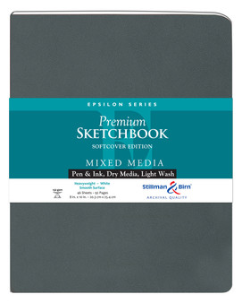 Stillman & Birn Softcover Sketchbook Epsilon Series 150g 8x10