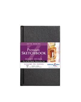 Stillman & Birn Zeta Hardbound Sketchbook 180lb 5.5x8.5