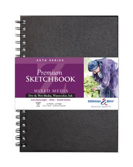 Stillman & Birn Zeta Wire Sketchbook 180lb 7x10