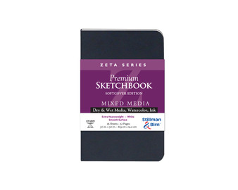 Stillman & Birn Softcover Sketchbook Zeta Series 180lb 3.5x5.5