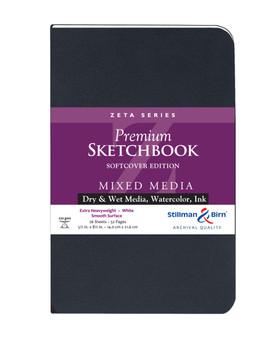 Stillman & Birn Softcover Sketchbook Zeta Series 180lb 5.5x8.5