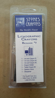 Stones Litho Crayon Special Package