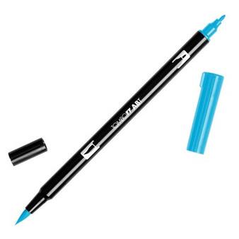 Tombow Dual Brush Marker Reflective Blue