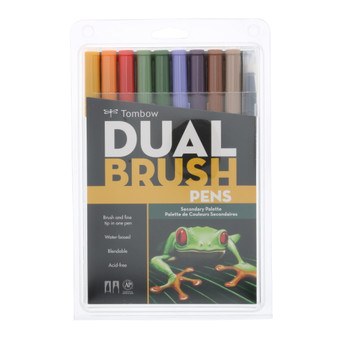 Tombow Dual Brush Marker 10 Set Secondary