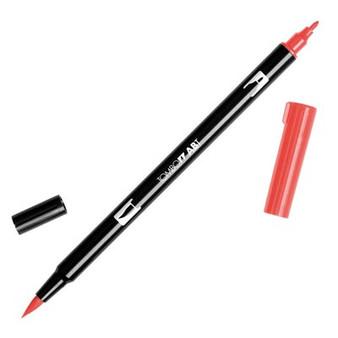 Tombow Dual Brush Marker Carmine