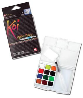 Sakura Koi Pocket Watercolor paint set of 12
