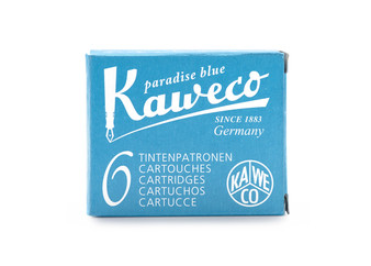 Kaweco Fountain Pen Ink Cartridge Pack of 6 Paradise Blue