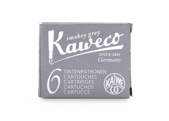 Kaweco Fountain Pen Ink Cartridge Pack of 6 Smokey Grey