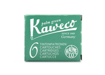 Kaweco Fountain Pen Ink Cartridge Pack of 6 Palm Green
