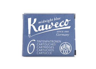 Kaweco Fountain Pen Ink Cartridge Pack of 6 Midnight Blue