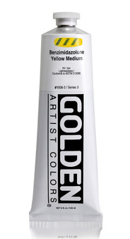 Golden Acrylic Heavy Body 5oz Benzimidazolone Yellow Medium