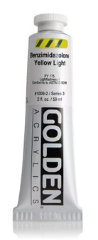 Golden Acrylic Heavy Body 2oz Benzimidazolone Yellow Light