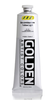 Golden Acrylic Heavy Body 5oz Benzimidazolone Yellow Light