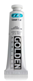Golden Acrylic Heavy Body 2oz Cobalt Teal