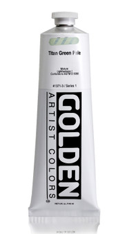 Golden Acrylic Heavy Body 5oz Titan Green Pale